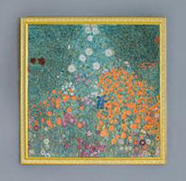 "5colored Weave<br>""Bauerngarten by Gustav Klimt"""