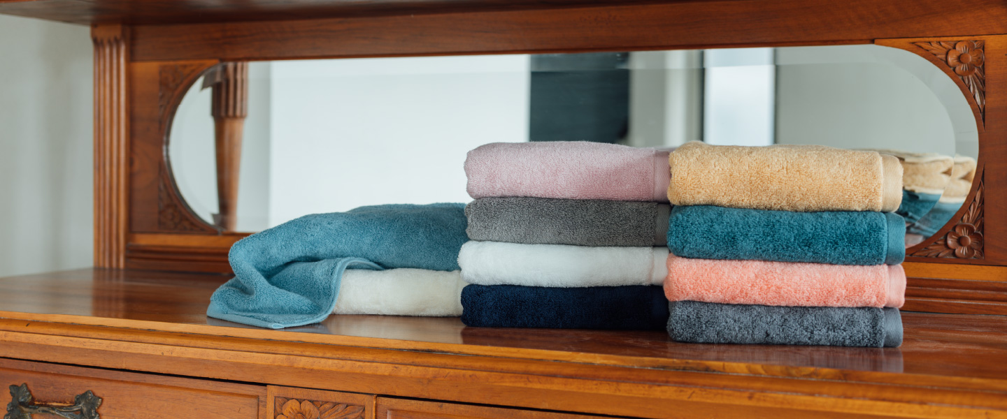 The ultimate basic towel - achieved through 100 years of technology.